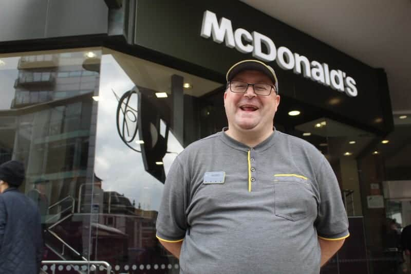 Think Employment learner lands job with McDonald's
